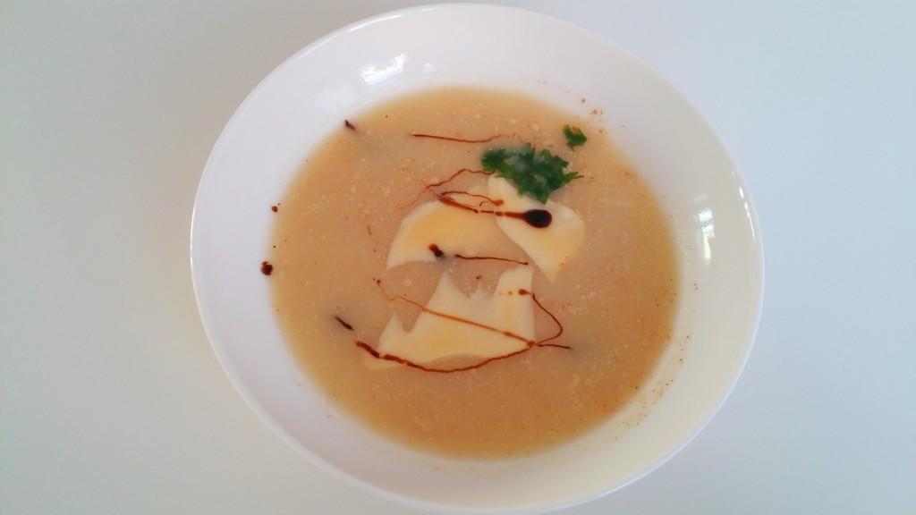 Zupa-krem z topinambur