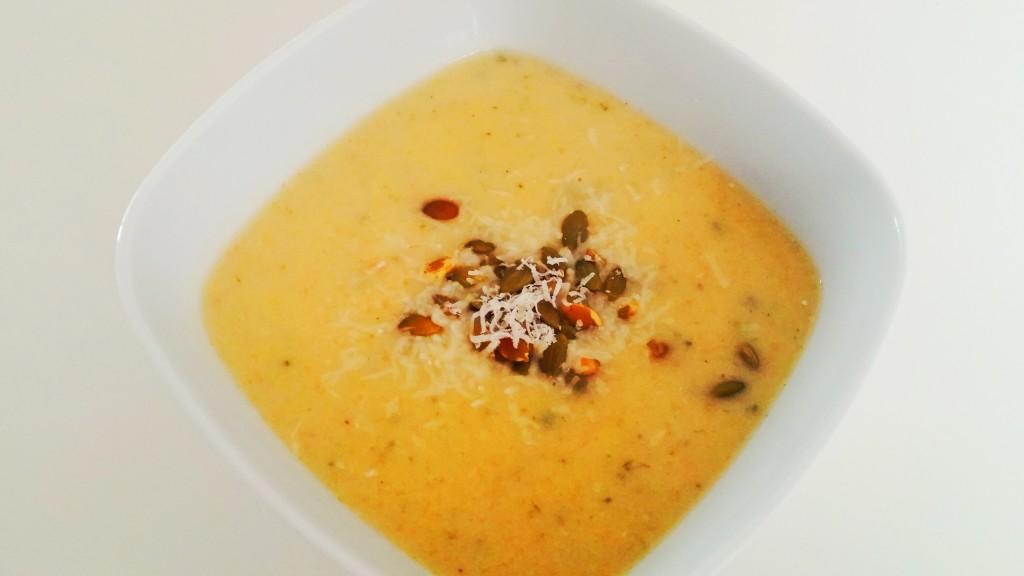 Krem kalafiorowo-marchewkowy