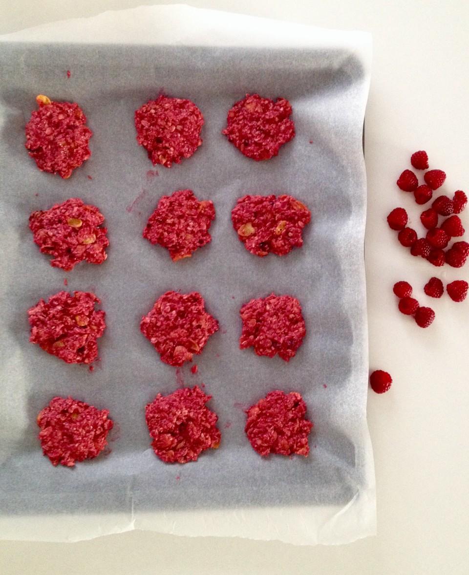 Ciasteczka malinowe – bardzo zdrowe