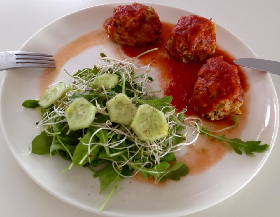 Pulpety z kaszy jaglanej i warzyw - dietetyczne