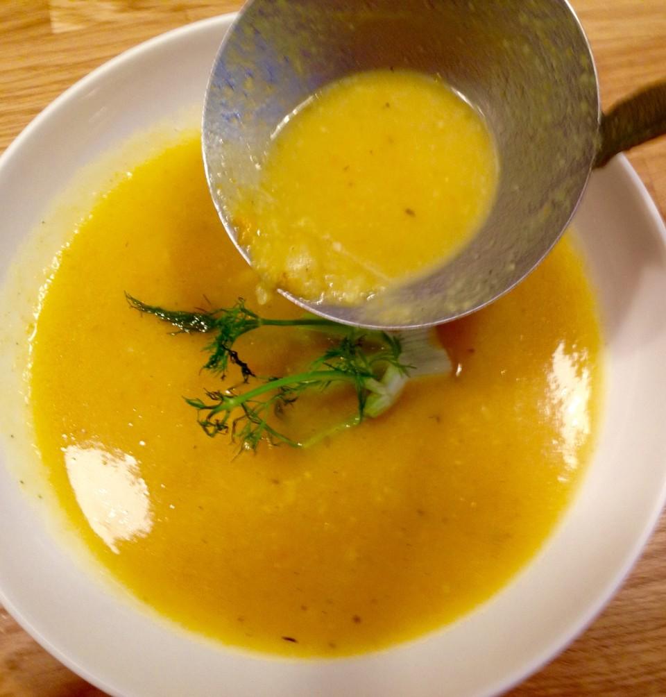 Zupa krem z fenkuła