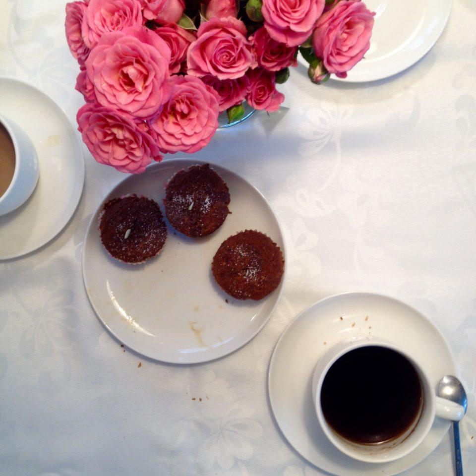 Muffinki bezglutenowe, bez jajek i mleka