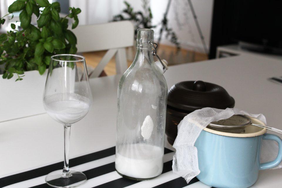 Mleko kokosowe domowej roboty
