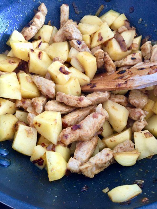 Curry ze schabem – kuchnia dla zapracowanych