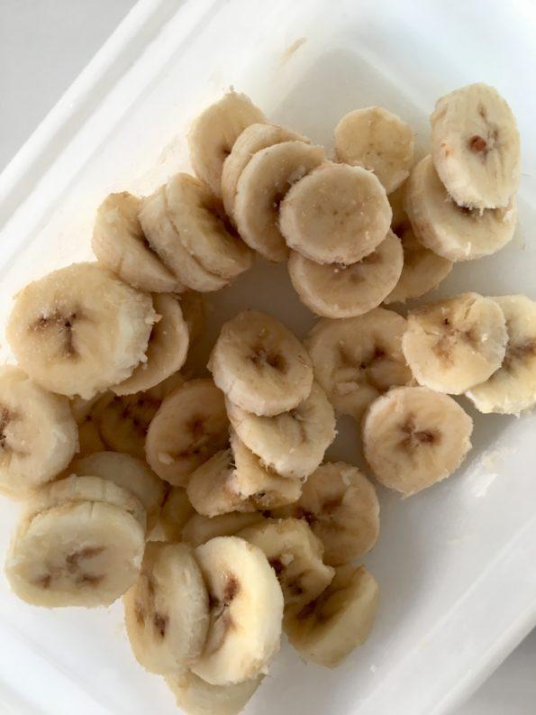 Lody wegańskie, domowe bananowo-kawowe