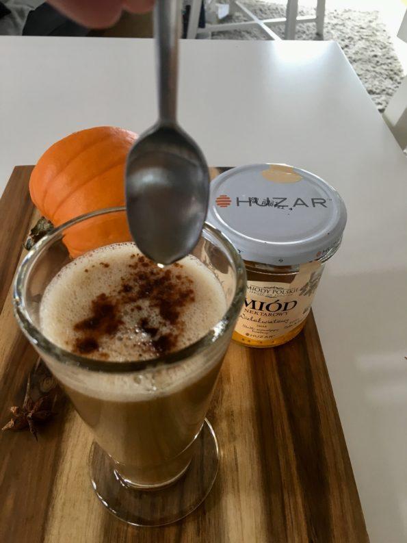 Dyniowa latte