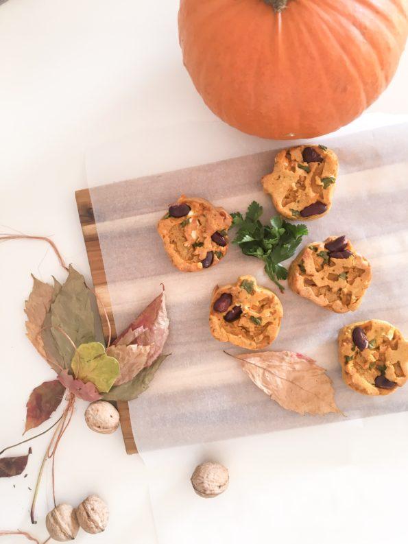 Muffiny dyniowe - wytrawne