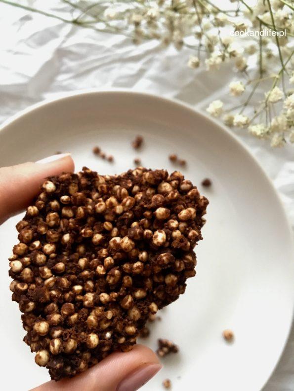 Czekoladowe batony z quinoa