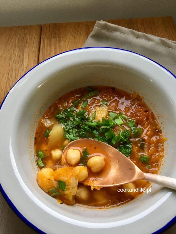 Zupa z ciecierzycy - pyszna