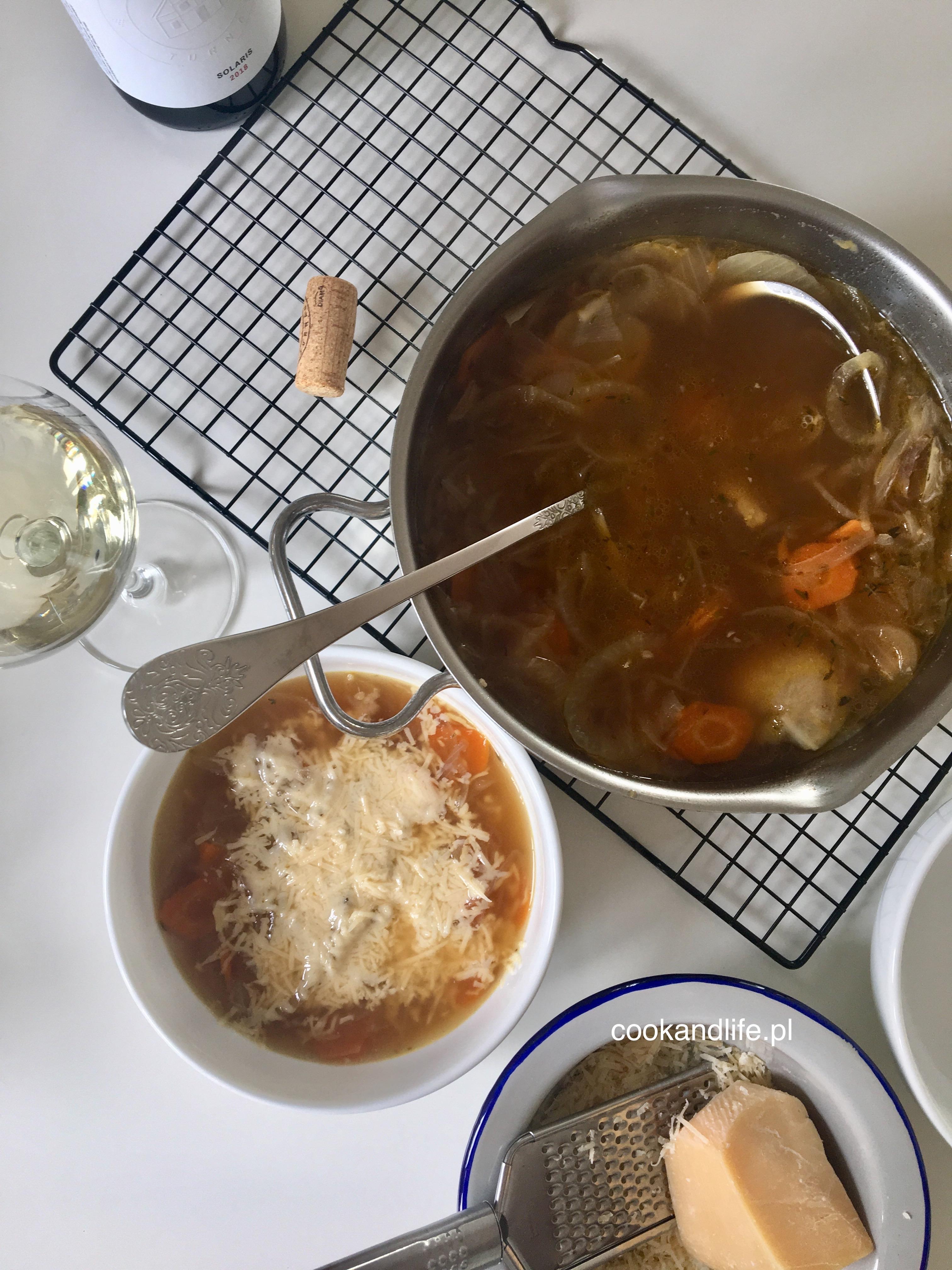 Zupa cebulowa dobra na alergie