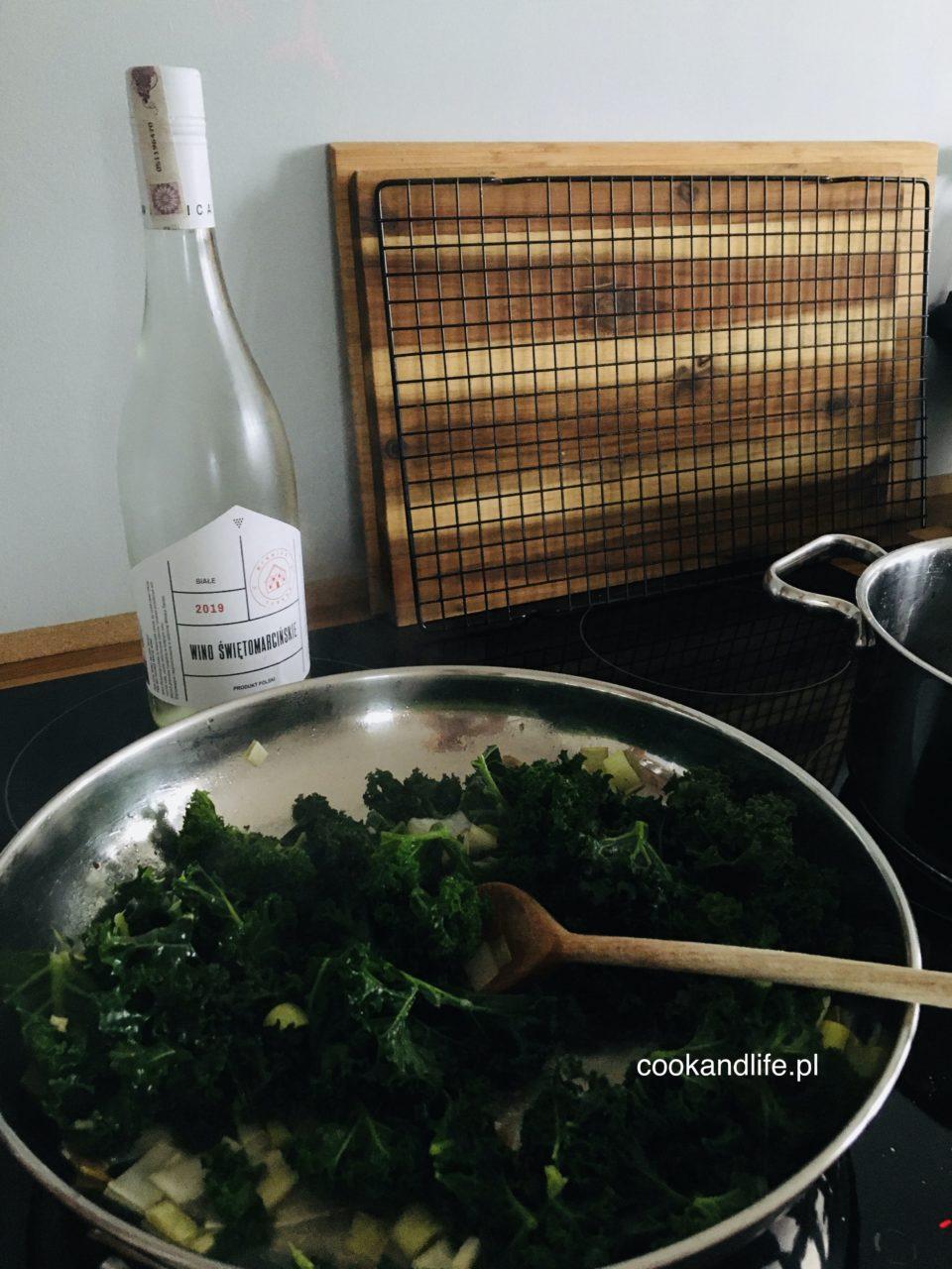 Jarmuż duszony - dodatek do obiadu