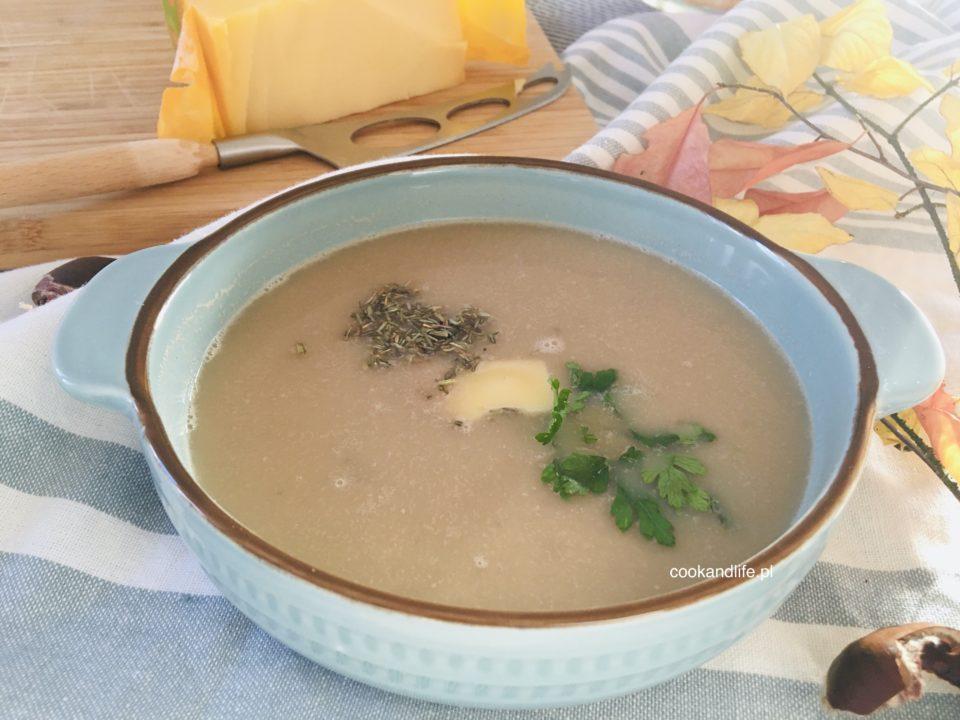Zupa z kasztanów jadalnych - przepis