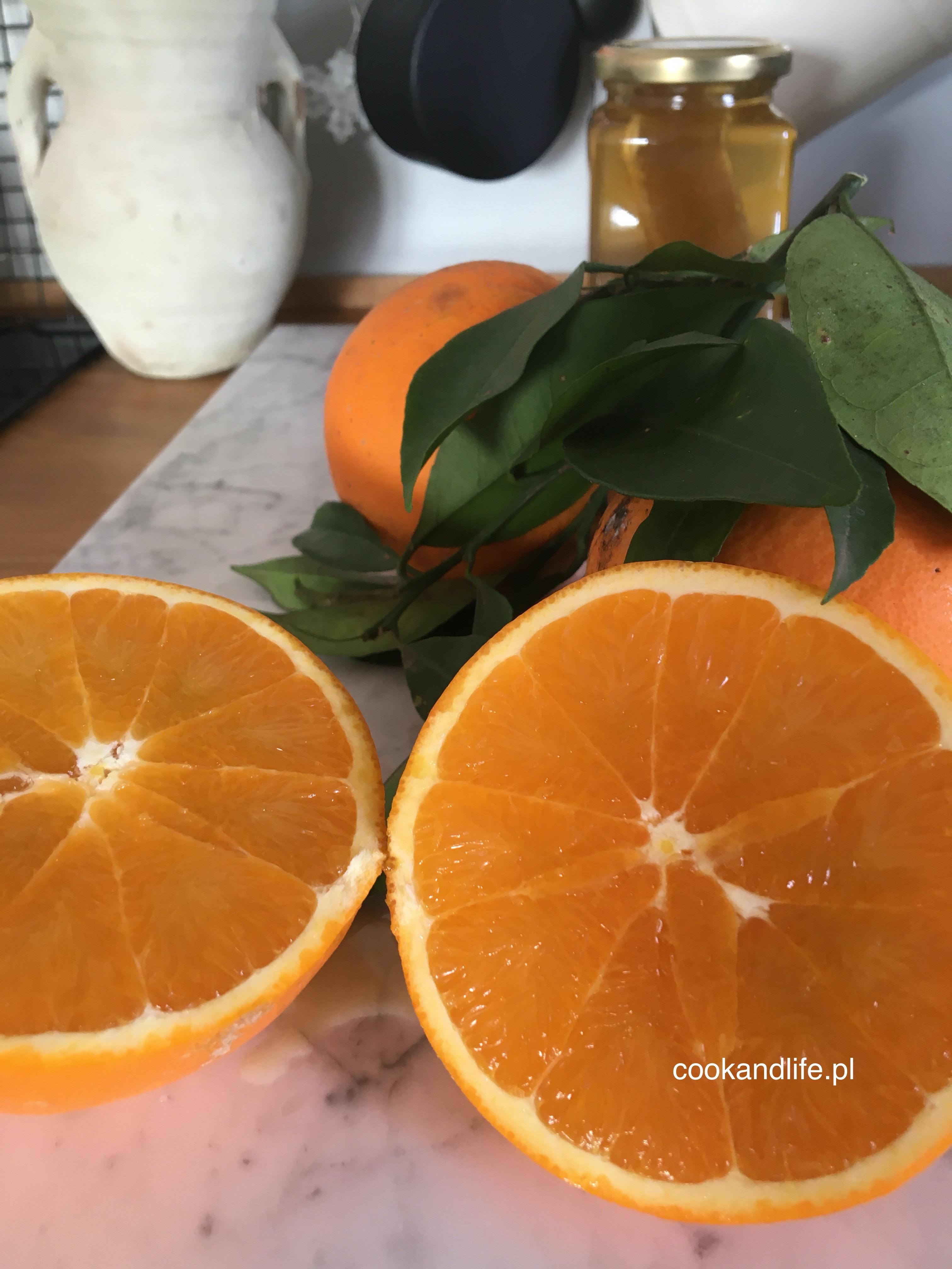 Konfitura z pomarańczy - przepis