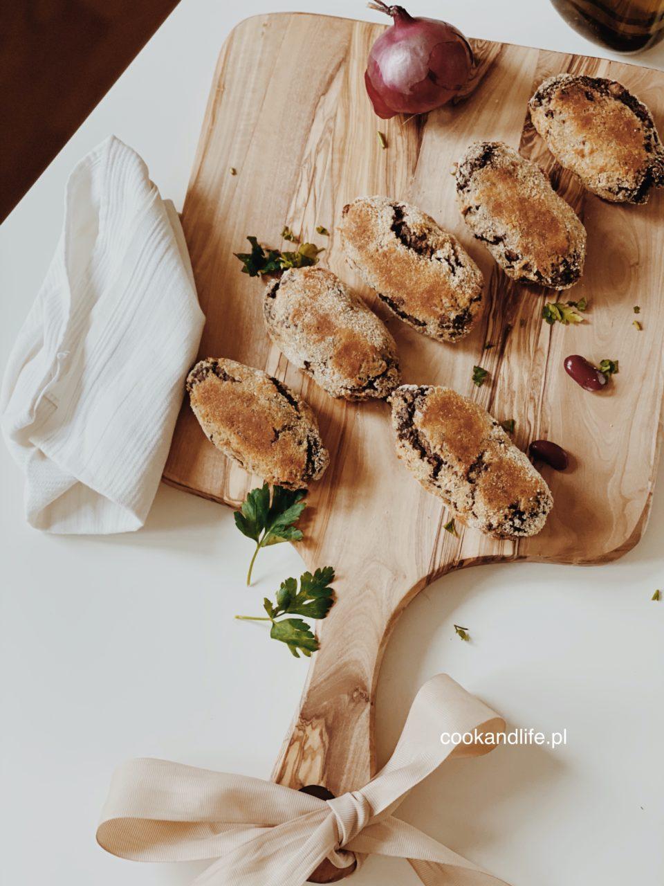 Kotlety z pieczarek - wegetariańskie