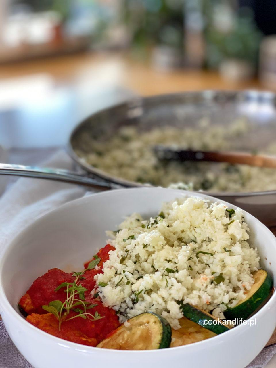 Ryż z kalafiora do obiadu - pyszny przepis