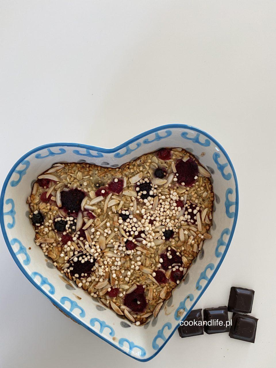 Owsianka pieczona - nie tylko na śniadanie