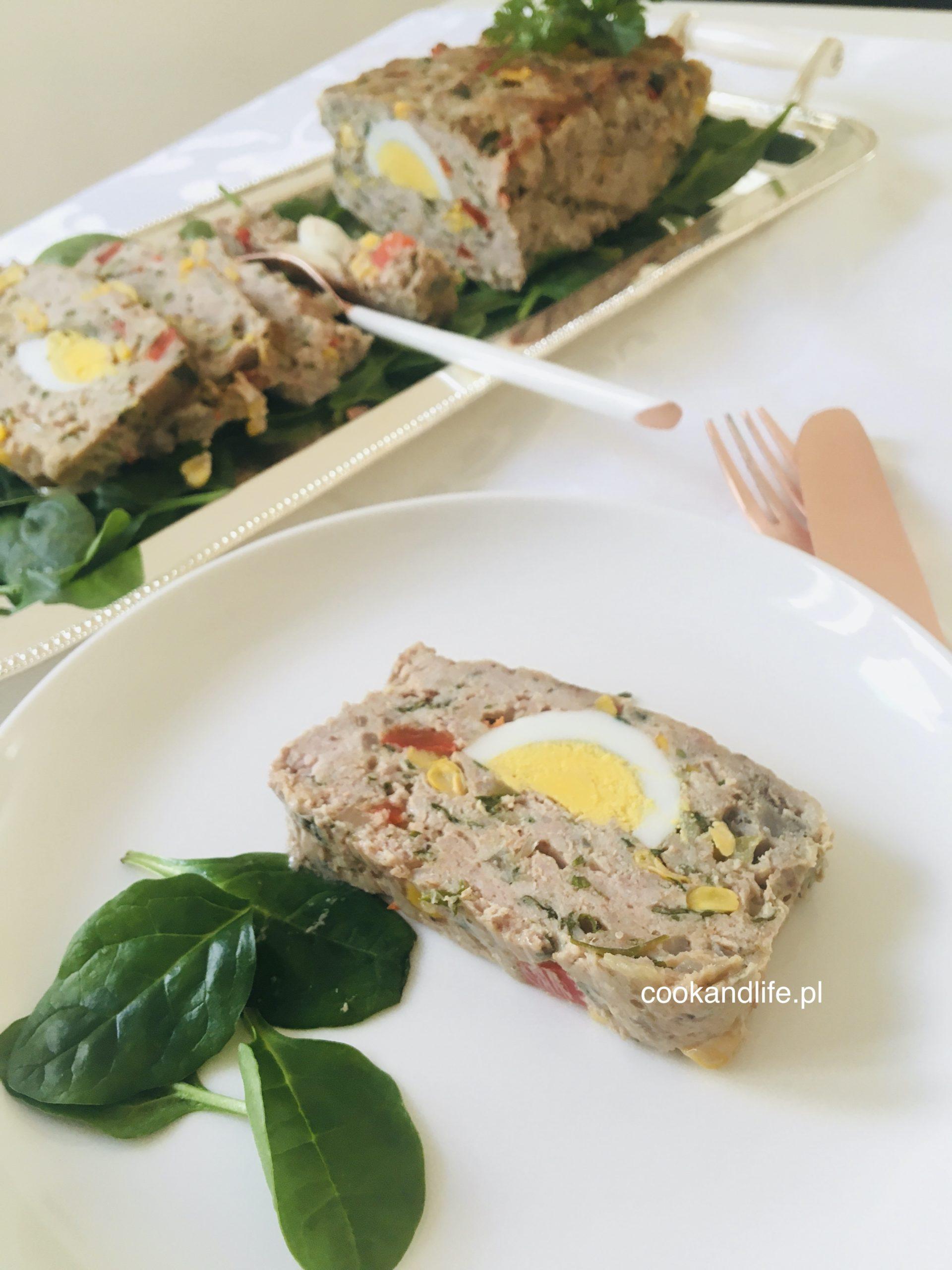 Pieczeń wielkanocna mięsno-warzywna