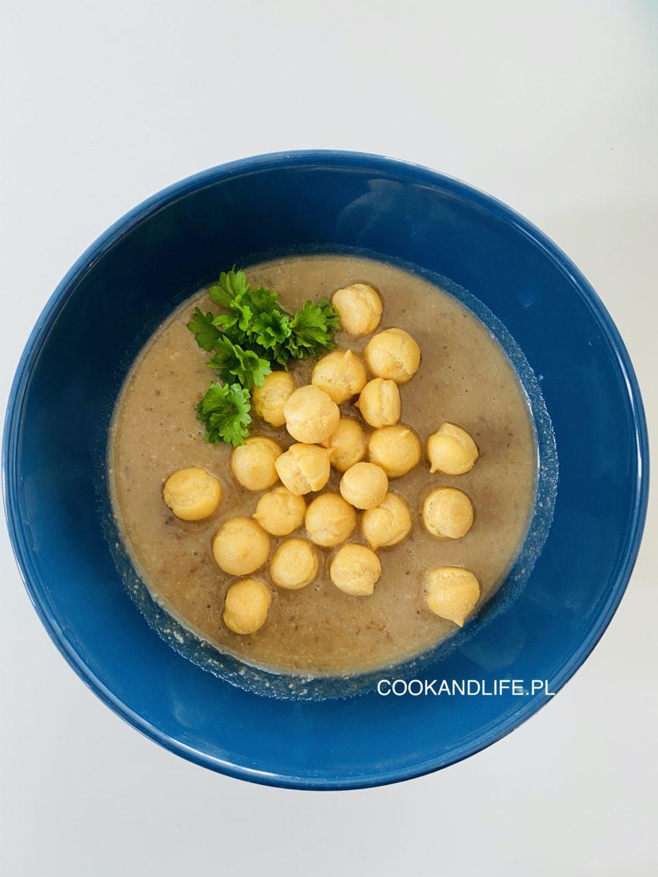 Krem grzybowy - wegetariański