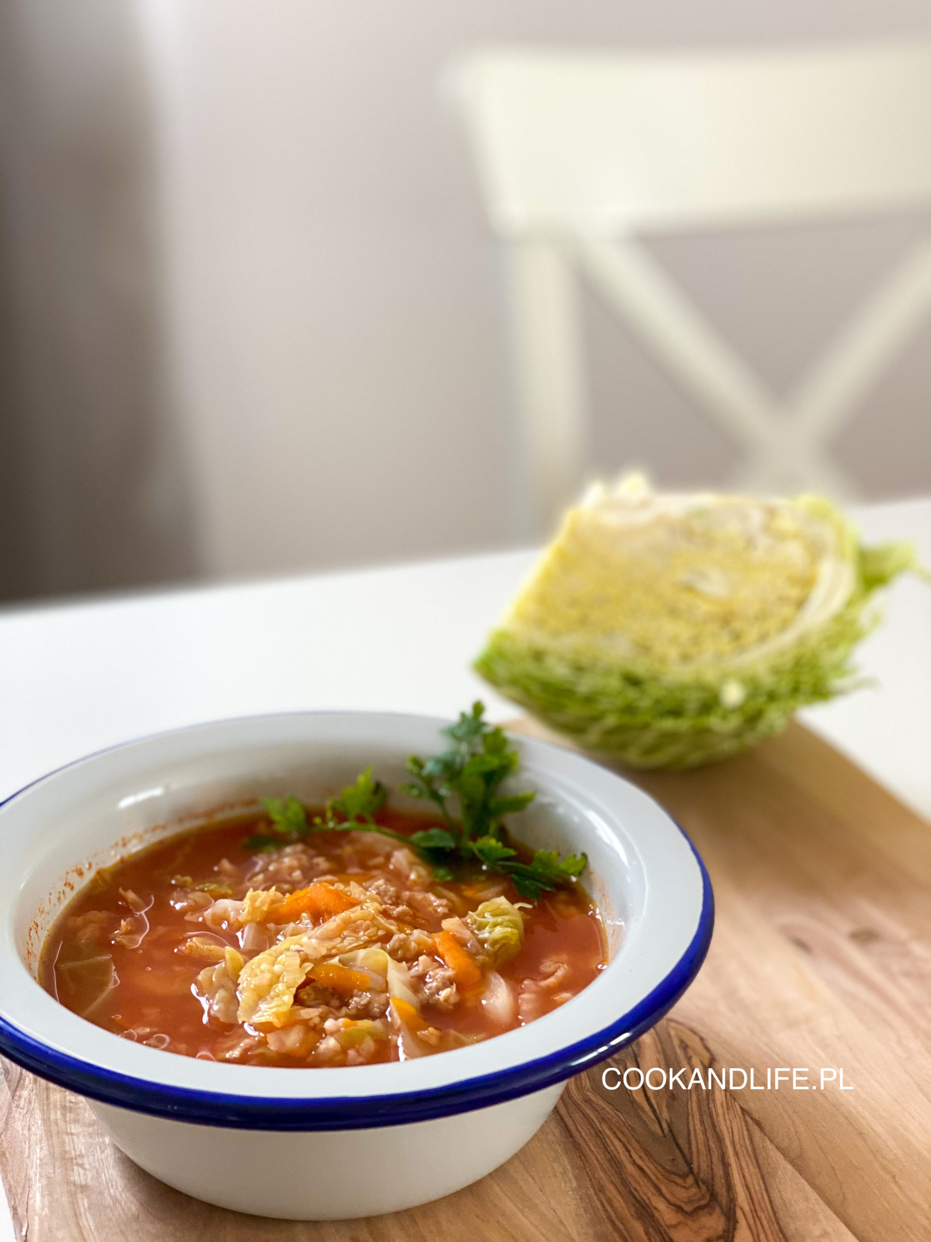 Zupa gołąbkowa, czyli pożywna zupa po pracy
