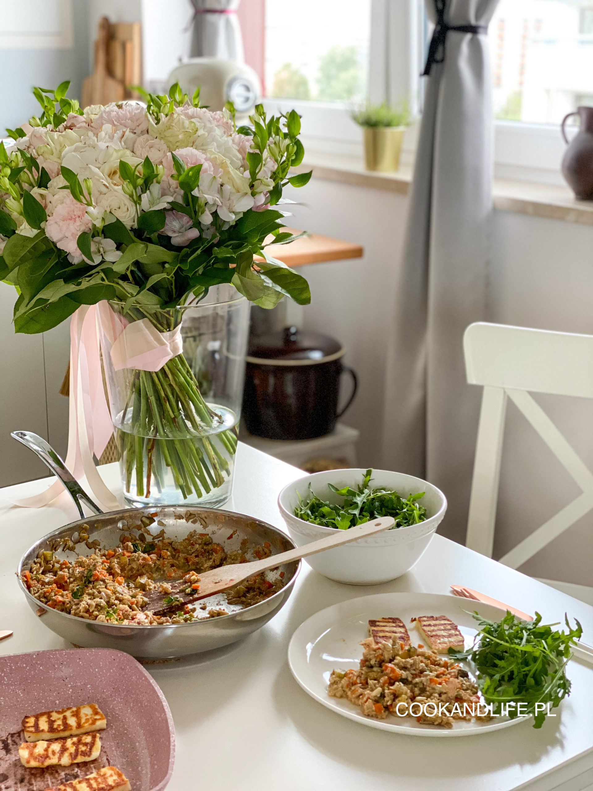 Słonecznikotto, czyli risotto ze słonecznika