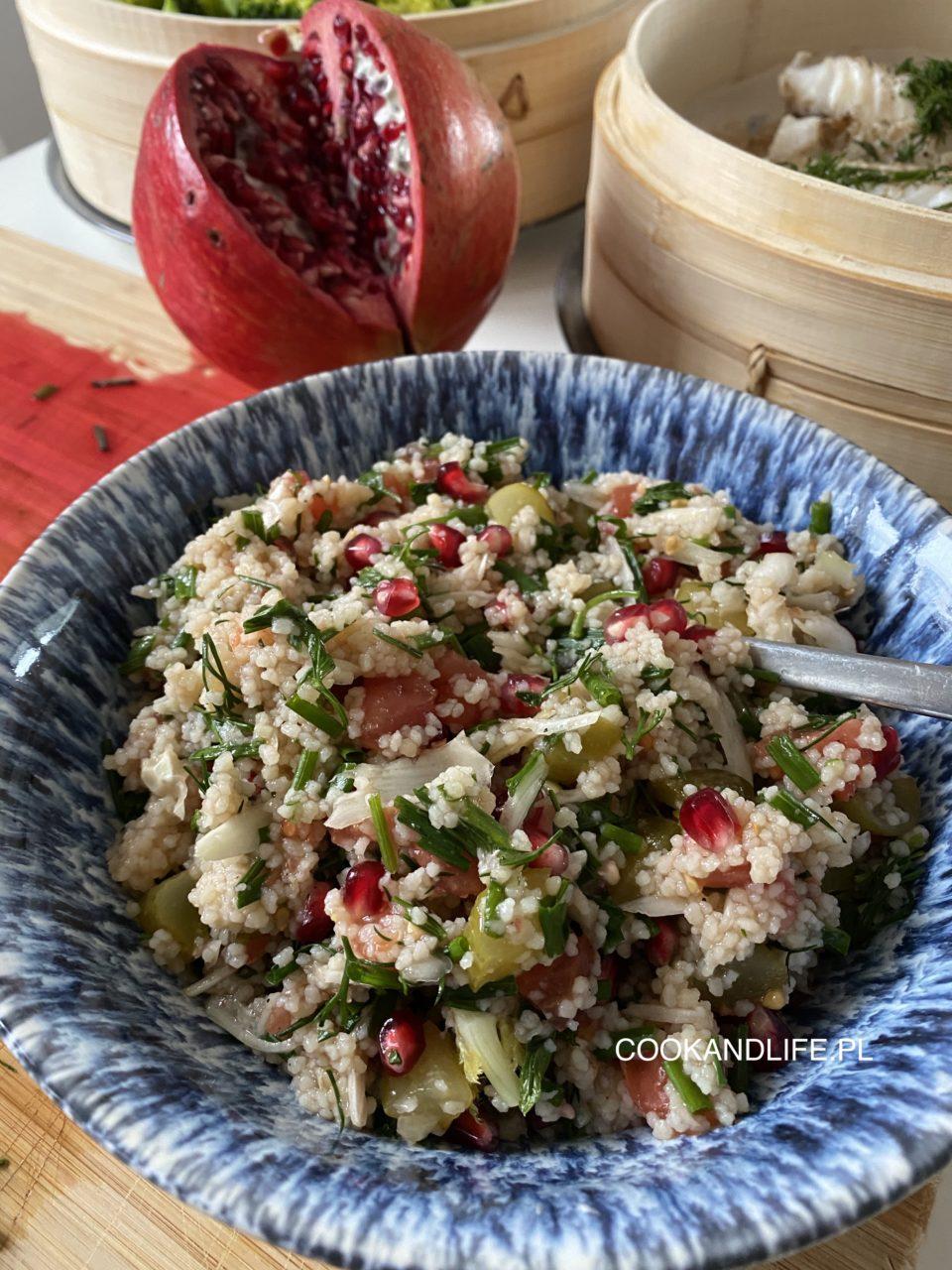 Jesienna sałatka tabbouleh na zdrowie