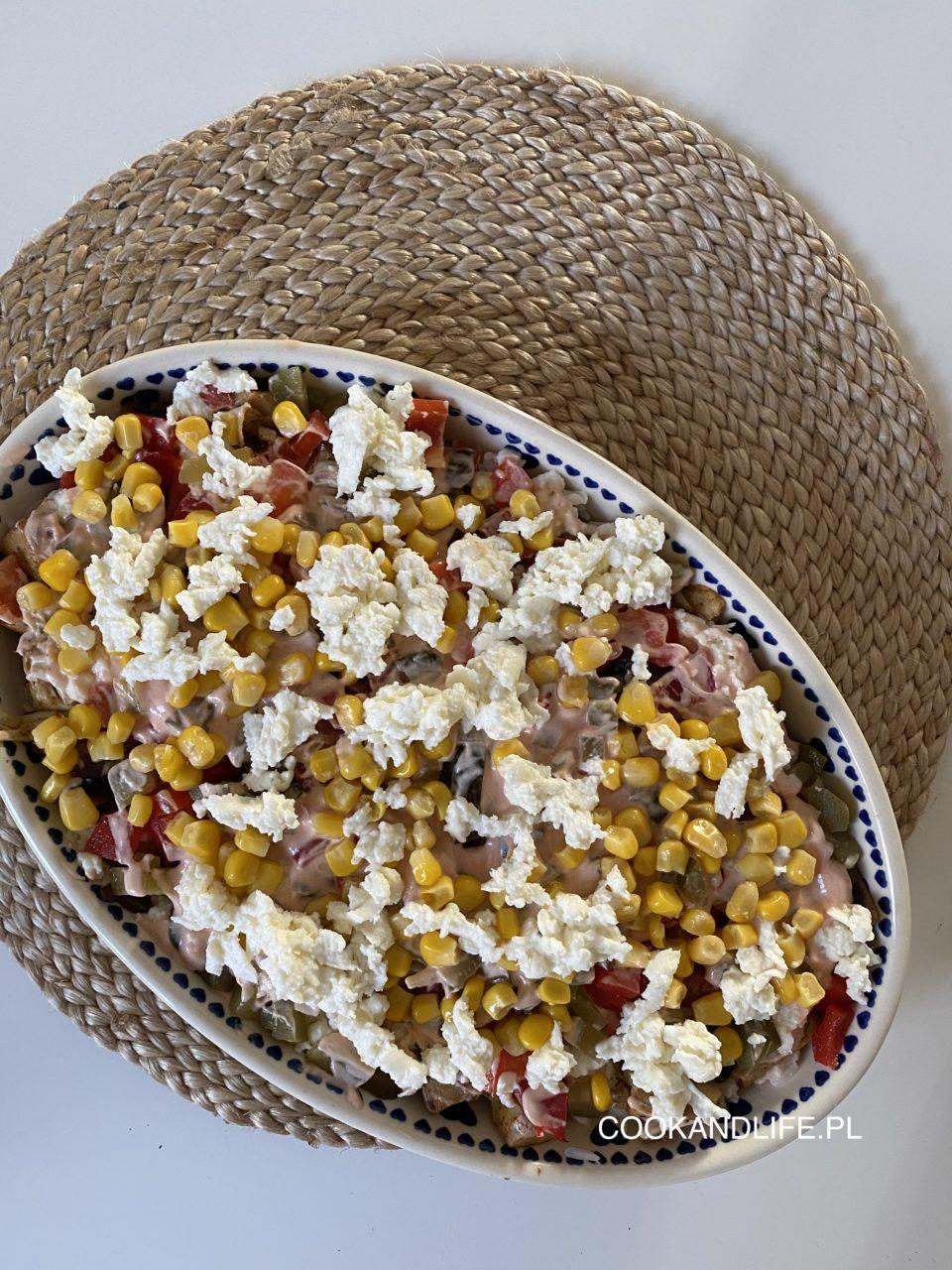 Zapiekanka gyros z ryżem - pyszny przepis