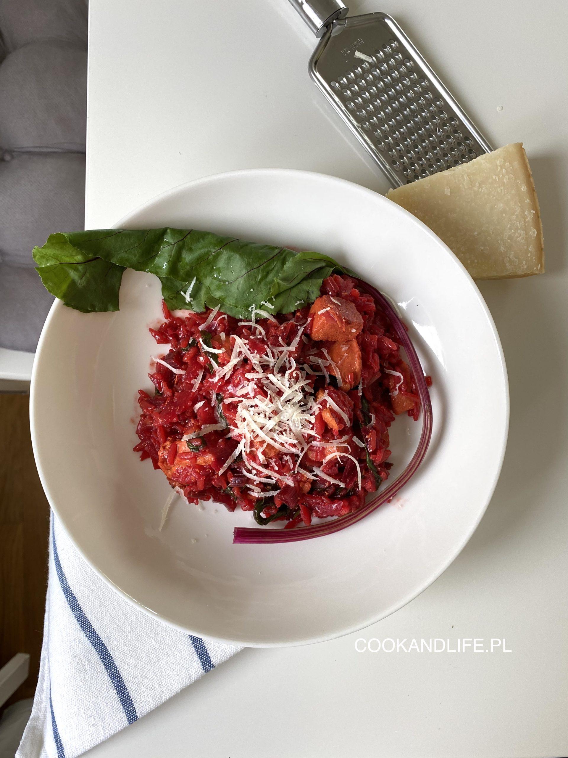 Risotto z botwiną, czyli letni obiad dla zabieganych